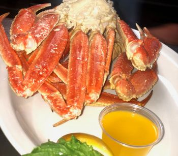Diamond Shoals Restaurant, Alaskan Snow Crab Legs